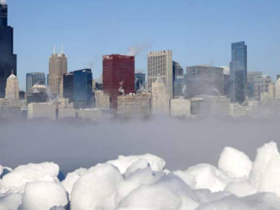 Polar Vortex shifts south as temperatures spike at North Pole